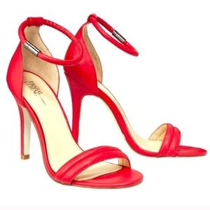NWT Prabal Gurung for Target red sandals heels